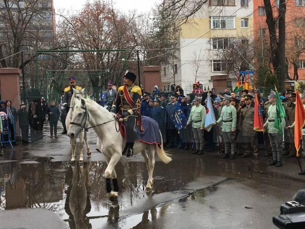 FOTO | Sosirea Domnitorului Alexandru Ioan Cuza la Buzău, reconstituită la 160 de ani de la Mica Unire