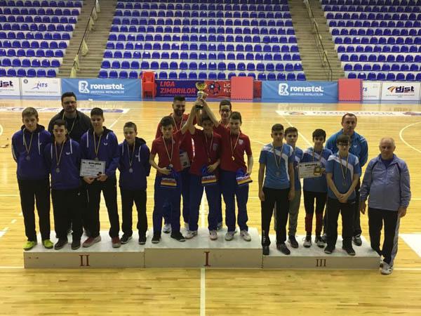 Farul și Steaua au câștigat Campionatul Național de tenis de masă pe echipe juniori II de la Buzău