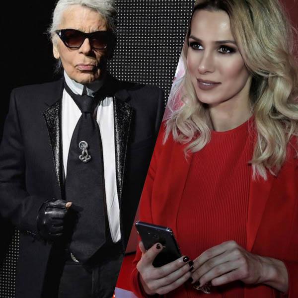 Buzoinaca Janina Nectara, despre invitația primită de la regretatul Karl Lagerfeld