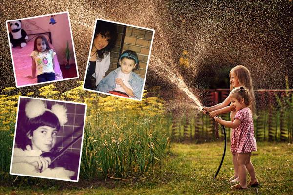 """""""10 Year Challenge"""" / Cum arătau vedetele buzoiene în copilărie (II)"""
