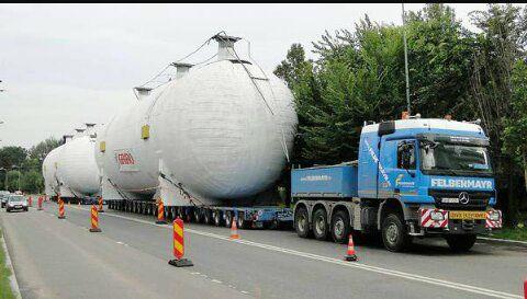 Recipiente gigant realizate de o firmă buzoiană vor trece oceanul