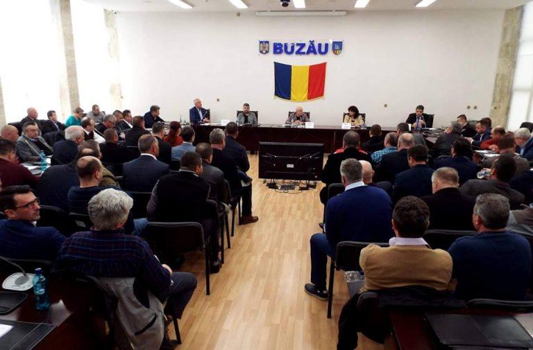 FOTO Pas important în demararea proiectului de înființare a rețelelor de gaze la nivelul județului Buzău