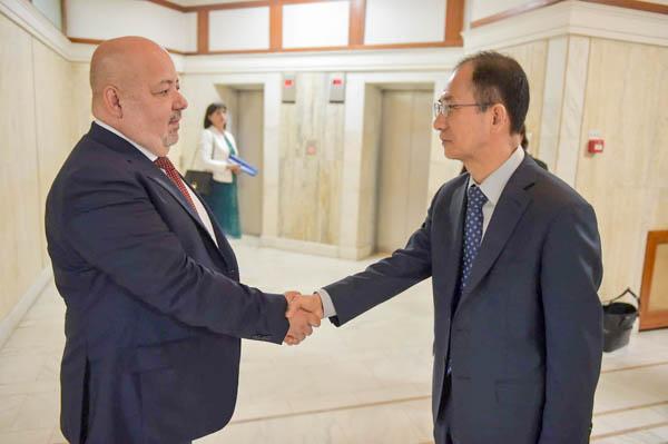 Sorin Lazăr s-a întâlnit cu delegația Fondului Monetar Internațional