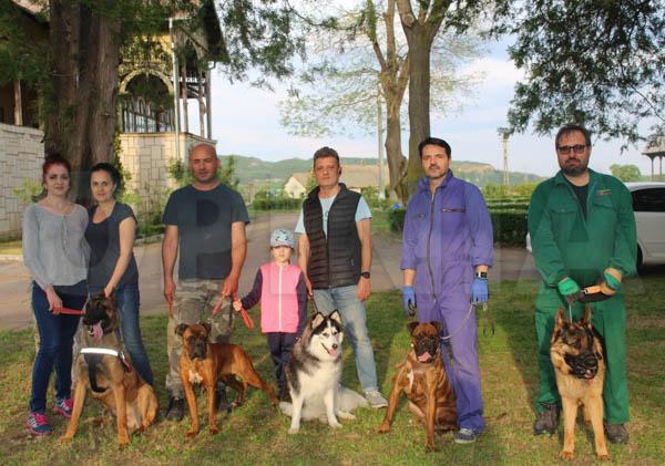 FOTO I Premieră pentru regiunea de Sud – Est a țării / O asociație buzoiană pregătește câini care salvează vieți
