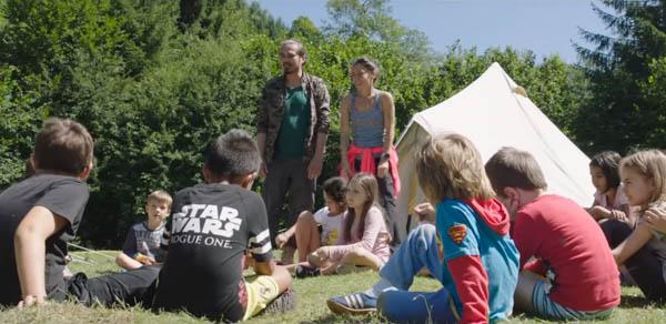 Vasile Calofir joacă în primul film de după '89 cu și despre copii