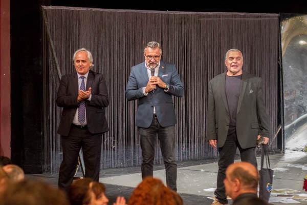 FOTO | Senatorul Lucian Romașcanu, la Reuniunea Teatrelor Naționale românești de la Chișinău