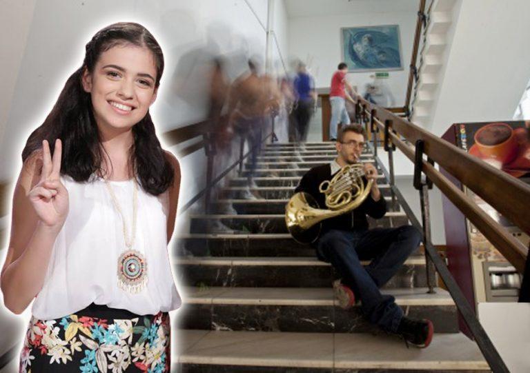 INTERVIU | Dora Gaitanovici, admisă prima pe listă la Conservator, la secția Compoziție Muzică Clasică