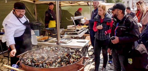 Festin cu fructe de mare la Buzău