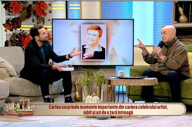 Benone Sinulescu îşi lansează o carte autobiografică