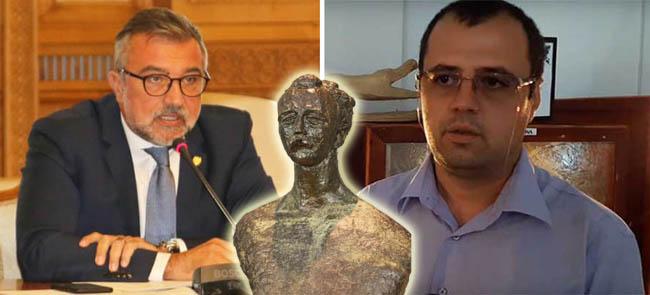 Ultimatum pentru directorul Muzeului Judeţean privind amplasarea bustului avocatului Petre Stănescu în Cimitirul Dumbrava