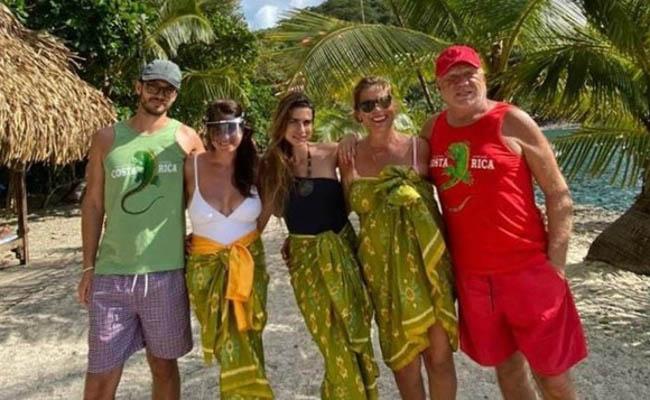 Milionarul buzoian Cornel Tăbăcaru şi-a reunit familia în Costa Rica