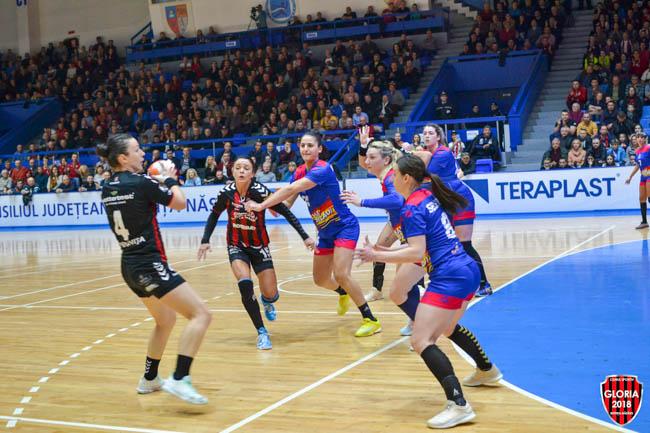 Handbalistele Gloriei, super-victorie la Bistrița