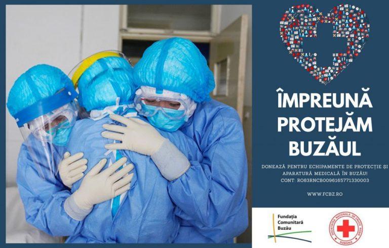 Buzoienii solidari în fața coronavirusului: ,,Am comandat deja două ventilatoare mecanice în valoare de 17.909 euro, pentru Spitalul Județean