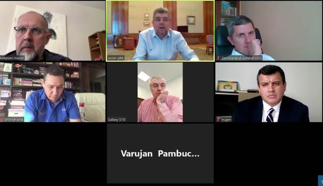"""Ciolacu: ,,Cu excepția PNL, toate partidele au înțeles să se unească în Parlament și să vorbească pe o singură voce când vine vorba despre măsuri urgente"""""""