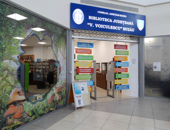 O parte din secţiile Bibliotecii Judeţene se deschid de marţi