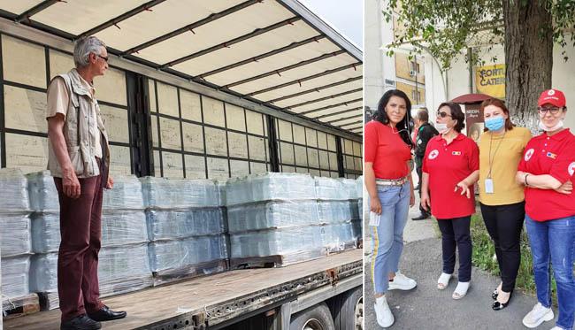 20 de tone de apă au ajuns la cadrele medicale și pacienții din două unități medicale buzoiene