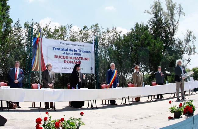 Descendenții lui Alexandru Ioan Cuza și Marghiloman, la Buzău, la conferința dedicată Tratatului de la Trianon