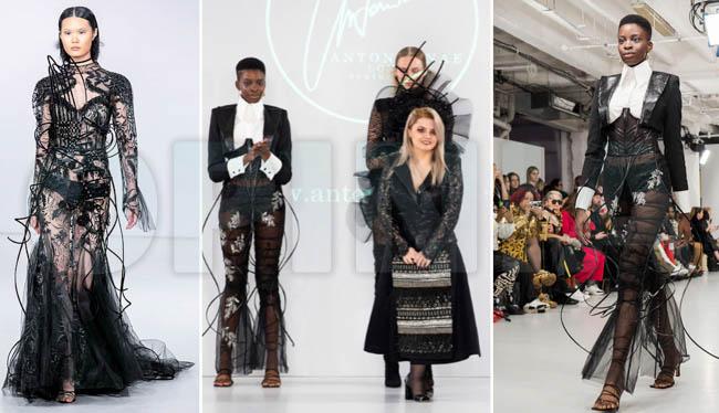 FOTO | Buzoianca Antonia Nae, în revista Vogue după ce și-a prezentat anul acesta colecția la London Fashion Week
