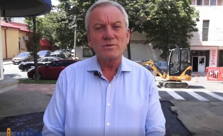 Toma: Se încheie o primă etapă pentru reabilitarea zonei centrale a Buzăului