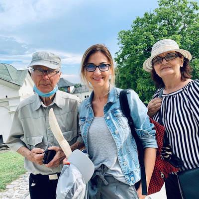 """Buzoianca Andreea Runceanu, excursie alături de părinți: ,,Ne-a tăiat răsuflarea"""""""