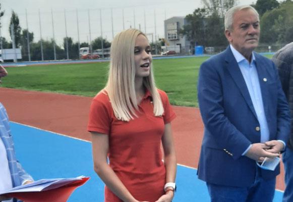 """Toma: """"Marina m-a inspirat să refac stadionul de atletism!"""""""