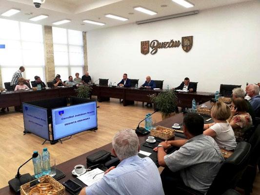 Apare o nouă funcție în organigrama Consiliului județean Buzău