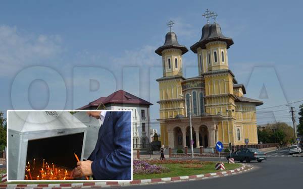 Un fost procuror criminalist a cumpărat cu bani falși lumânări de la Catedrala Arhiepiscopală