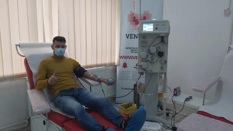 Fotbaliştii Metalului, vindecaţi de COVID-19, au donat plasmă cu anticorpi!