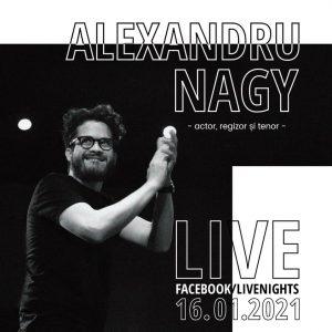 """Sâmbătă, la """"Live Nights"""", un spectacol online """"cum Vila Albatros nu a mai găzduit niciodată"""""""