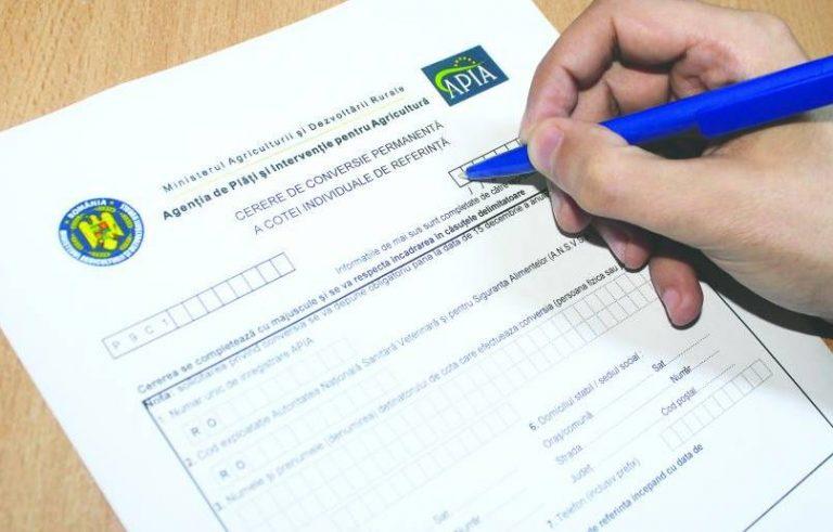 Câți fermieri buzoieni au depus la APIA cererile unice de plată